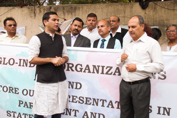 Anglo-Indians voice opposition to political exclusion
