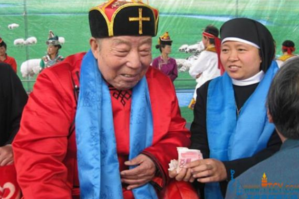 China stifles funeral of underground Catholic bishop