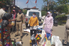 Curfew blocks Catholics' Covid charity in central India