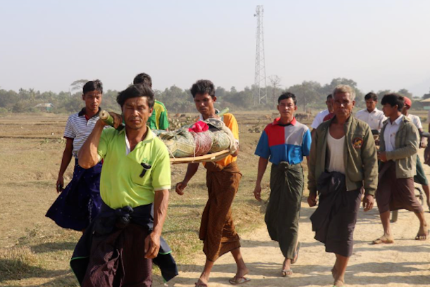 Myanmar told to give peace a chance