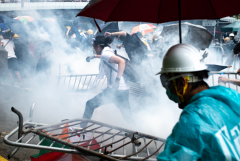 Fear and panic spread across Hong Kong