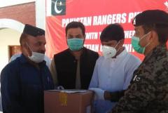 Punjab Rangers help Christians amid virus lockdown