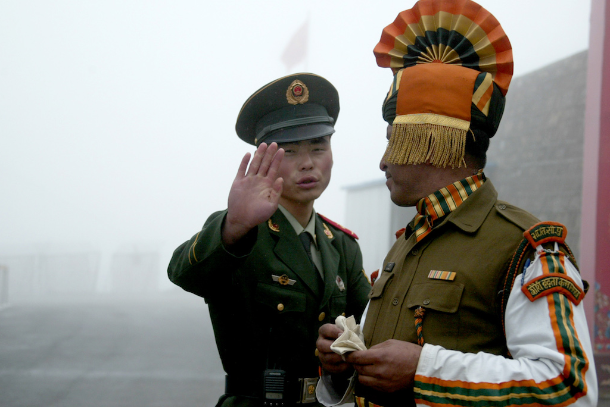 Aggressive China tries to keep India in check