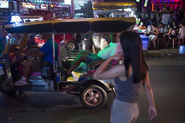 Thailand's economic downturn devastates sex industry