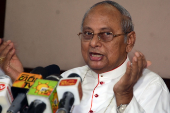 Sri Lankan cardinal meets politician accuser