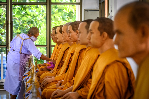 Misbehaving monks tarnish Thai Buddhism