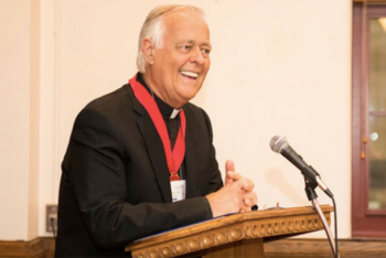 'Parish priest on loan to the missions' ends nine years as CNEWA president