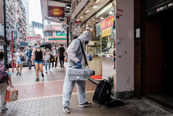 Hong Kong's financial edge takes a Covid-19 beating