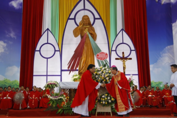 Elderly Vietnam bishop develops diocese