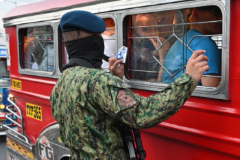Philippine jeepney drivers beg to resume work