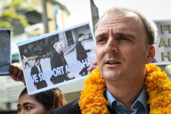 Thai court upholds acquittal of British labor activist
