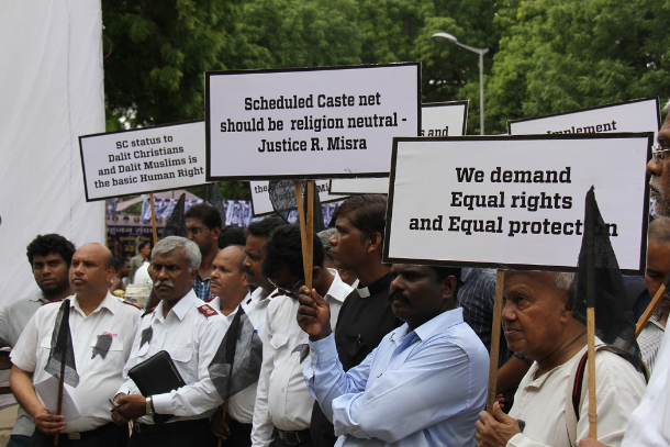 Indian Christians show solidarity with Dalits