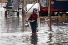 Pakistan sinks in record rainfall, urban flooding