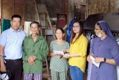 Church provides finance for Vietnam storm victims