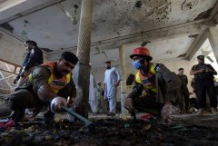 Blast at Pakistan madrasa kills seven, injures 70