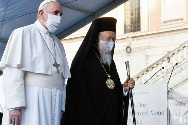 Franciscan university honors patriarch for theological work on ecology