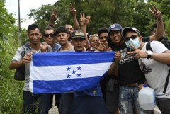 New caravan of 3,000 migrants forms in Honduras; first during pandemic