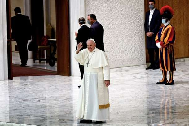 Pope donates money to victim families of cargo ship disaster