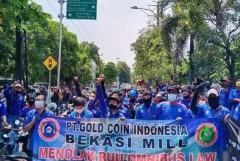 Indonesia erupts in protest over job creation law