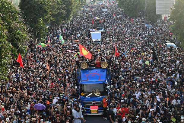 Young Thai protesters demand a nation confront the truth