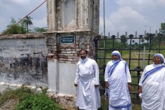 British-era Christian cemetery falls victim to encroachers in India
