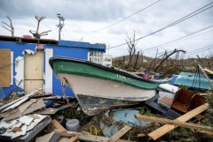 Church aids Colombian island's residents left homeless by hurricane