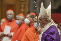 Pope creates 13 new cardinals, including two from Asia