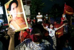 Ethnic parties struggle as Suu Kyi celebrates victory