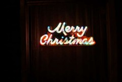 Indonesian villagers take dim view of neon Christmas sign