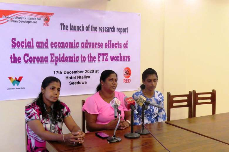 Sri Lankan garment workers demand movement to protect rights