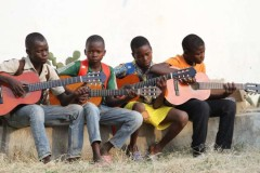 Music school aims to stop young people joining war in Central African Republic