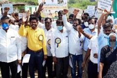 Dalit Christians hold protest march in southern India