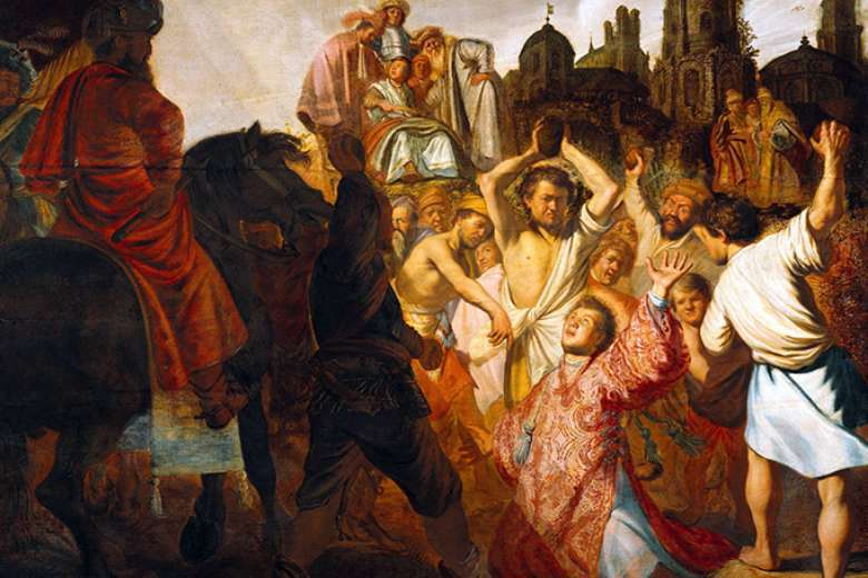 St. Stephen, the hero of persecuted young truth seekers