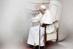 Pope puts off more events due to painful sciatica