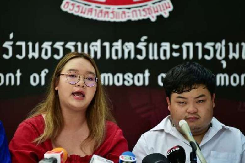 Thai female activists face routine rights violations