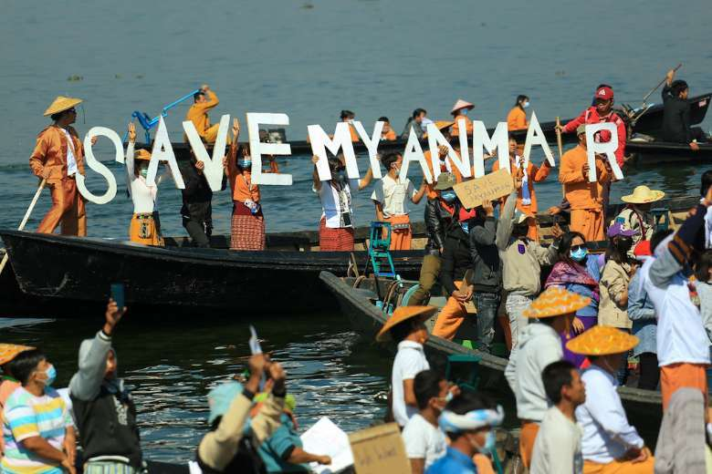 Myanmar military's charm offensive targets religious groups