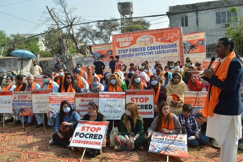 'Love jihad' sparks protests in Pakistan