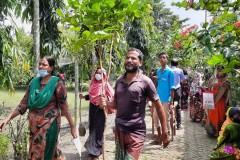 Church plants trees to make Bangladesh greener