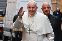 Pope says politics must be built from the bottom up