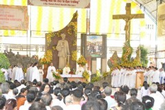 Vietnamese Catholics asked to follow martyr's example