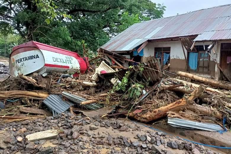 Scores dead in Indonesia, Timor-Leste floods