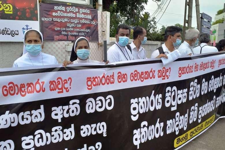 Terrorists at large in Sri Lanka, says Buddhist monk