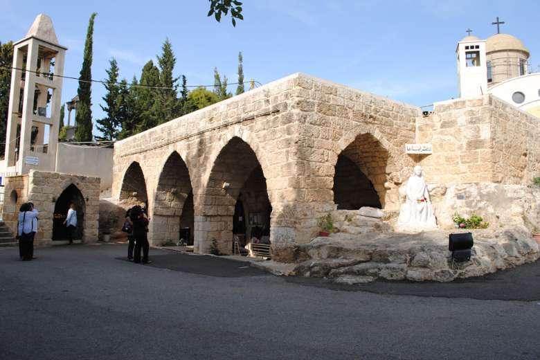 Pilgrims flock to Lebanese sanctuary where Mary, Jesus rested