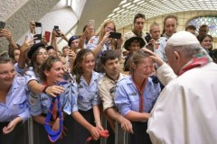 Pope tells Catholic Scouts to follow 'noble mission'