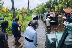 Church joins relief efforts for flood victims in Sri Lanka