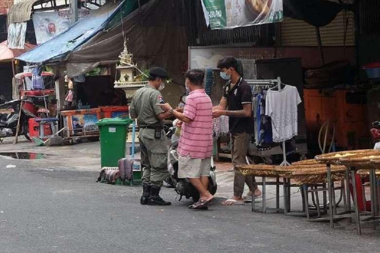 Cambodia closes provinces, imposes curfew in tough Covid move