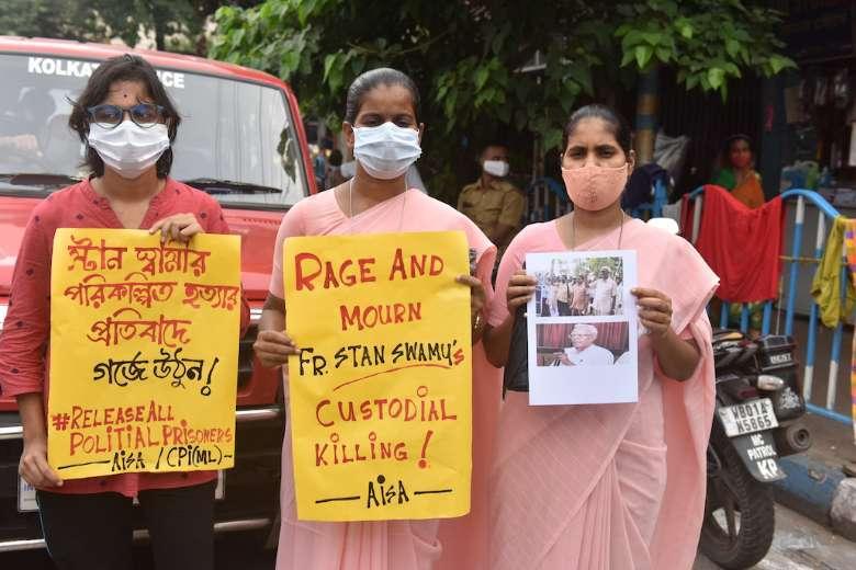 Rights group blames Modi regime for Jesuit's death in detention