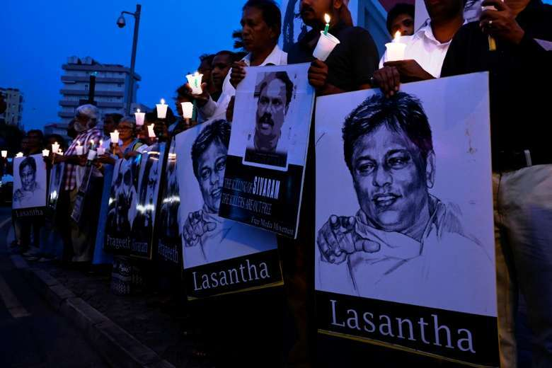 Sri Lankan police told to stop harassing journalists