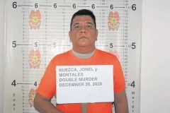 Filipino cop convicted of killing mother, son