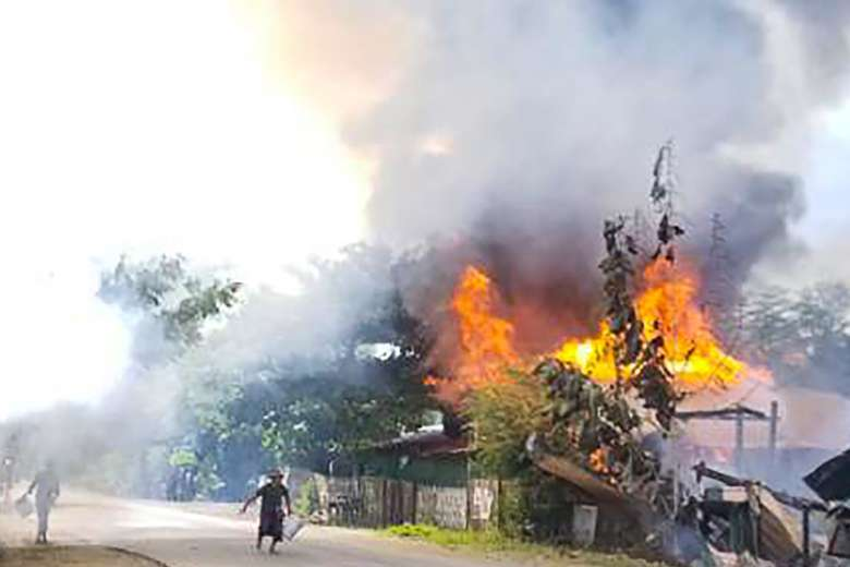 Where is the international outrage as Myanmar burns?